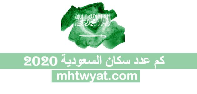 كم عدد سكان السعودية 2020 موقع محتويات