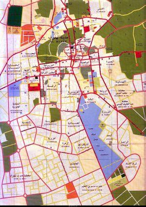 خريطة مدينة الهفوف