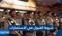 شروط القبول في الاستخبارات السعودية 1442 ورابط التقديم