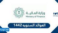 العوائد السنوية 1442 في السعودية … الاستعلام عن العوائد السنوية إلكترونيا
