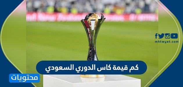 كم قيمة الكأس الدوري السعودي ؟ ومتى يبدأ الموسم الجديد 2020-2021