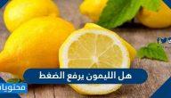 هل الليمون يرفع الضغط .. تأثير الليمون على أدوية الضغط