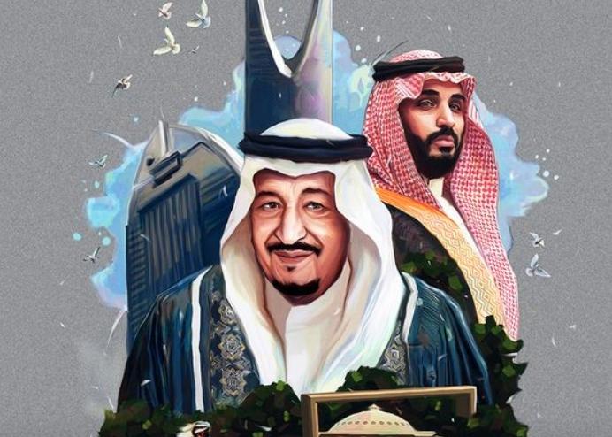 تصميم الملك سلمان ومحمد بن سلمان جودة عالية Hd موقع محتويات