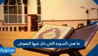 ما هي السورة التي ذكر فيها البعوض وما إعجاز القرآن في البعوضة