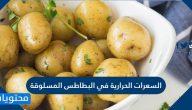 السعرات الحرارية في البطاطس المسلوقة والمقلية وفوائدها بالتفصيل