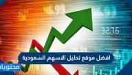 افضل موقع تحليل الاسهم السعودية 2021