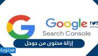 طريقة إزالة محتوى من جوجل وإزالة معلوماتك الشخصية من جوجل