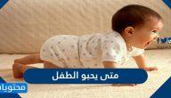 متى يحبو الطفل وما هي اهم النصائح لحماية الطفل أثناء مرحلة الزحف