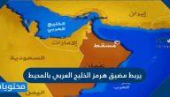 يربط مضيق هرمز الخليج العربي بالمحيط