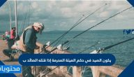 الصيد في حكم الميتة المحرمة إذا قتله الصائد
