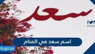 اسم سعد في المنام للعزباء والمتزوجة والحامل والرجل