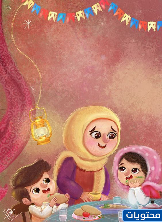صور جميلة عن رمضان بنات