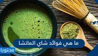 ما هي فوائد شاي الماتشا