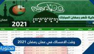 وقت الامساك في عمان رمضان 2021