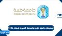 تخصصات جامعة طيبة بالمدينة المنورة للبنات 1442