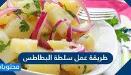 طريقة عمل سلطة البطاطس بالمايونيز أو الزبادي أو بدبس الرمان