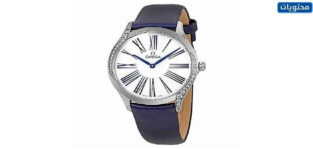 ساعة Omega De Ville Tresor Quartz Women's Watch