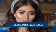 سبب سجن مريم حسين